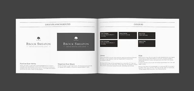 Real Estate Branding and web design Brock Smeaton West Vancouver
