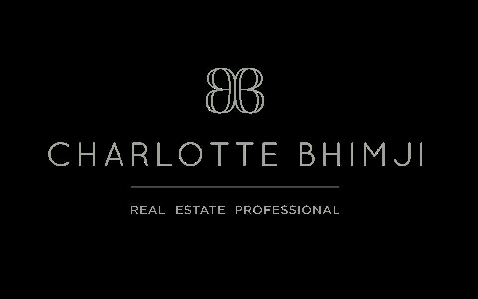 Realtor Website design and branding for Carlotte Bhimji, logo design