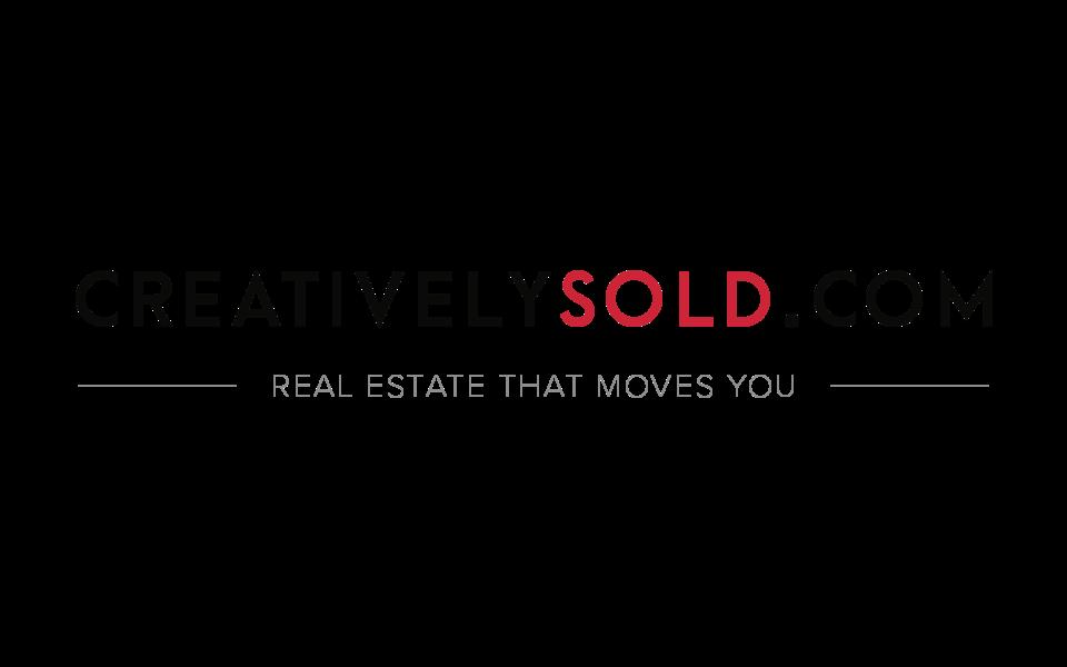 Real estate agent marketing - branding for creativelysold.com