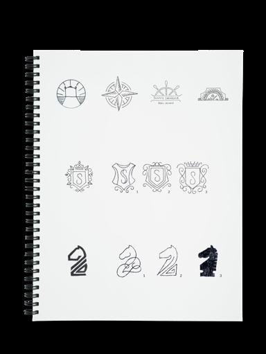 Sunny Sangha Realtor Branding Logo design process